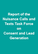 Nuisance Calls Task Force Report