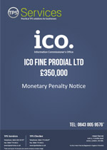 Prodial Ltd Monetary Penalty Notice