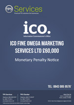 Omega Marketing Services Ltd Monetary Penalty Notice