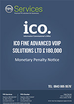 Advanced VoIP Solutions Ltd Monetary Penalty Notice