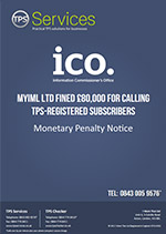 MYIML Ltd Monetary Penalty Notice as issued by the ICO