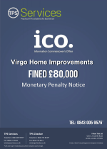 Virgo Home Improvements Monetary Penalty Notice as issued by the ICO