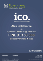 Approved Green Energy Solutions Ltd Monetary Penalty Notice as issued by the ICO