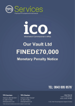 Our Vault Ltd Monetary Penalty Notice as issued by the ICO