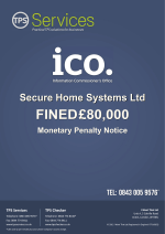 Secure Home Systems Ltd - ICO Enforcement Notice