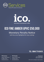 Amber UPVC Monetary Penalty Notice