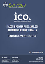 Falcon and Pointer Enforcement Notice